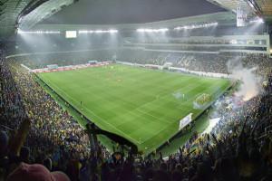Україна-Австрія - перша гра на Арені Львів